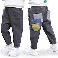 QJ5Size80-120 (6-21kg)Quần Jean dáng thụng bé trai, co giãn mềmThời trang trẻ Em hàng quảng châu thumbnail
