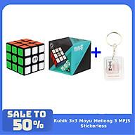 Combo Rubik 3x3 ShengShou Legend S Khối Lập Phương Đồ Chơi Rubic 3 Tầng Hộp Xanh kèm móc khóa TTH thumbnail