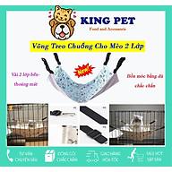Võng Cho Mèo ,võng treo vào chuồng, lồng tiện lợi dễ thao tác dễ dàng thumbnail
