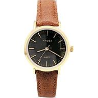 Đồng hồ Nữ Halei - HL541 Dây da nâu thumbnail