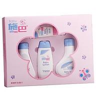 Hộp quà tặng Sebamed (Gel tắm tạo bọt cho bé 200ml + Sữa gội đầu cho bé 150ml + Sữa dưỡng ẩm da cho bé 100ml + Kem dưỡng da cho bé 50ml) thumbnail
