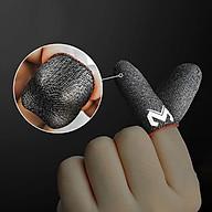 Bao tay chơi gane điện thoại MEMO GT2 (Bản cao cấp) siêu mỏng cảm giác thật, logo nổi, vải sợi carbon siêu bền chống giãn xù tăng cường cảm ứng chạm, chống mồ hôi dành cho game PUBG Tốc Chiến Freefire Liên Quân mobile - Hàng chính hãng thumbnail