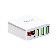 Củ sạc 3 cổng USB Hoco C15 có màn LED hiển thị đo dòng - Hàng Chính Hãng thumbnail