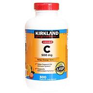Viên uống Vitamin C 500mg Kirkland 500 viên của Mỹ thumbnail