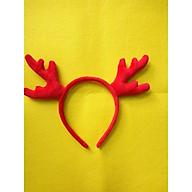 Băng Đô Sừng Tuần Lộc - Phụ Kiện Giáng Sinh - Đỏ thumbnail