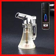 Combo Hộp Quẹt Bật Lửa Khò 1 Tia BK854 Dùng Gas Cao Cấp + Tặng Bình Gas Chuyên Dụng Cho Bật Lửa thumbnail