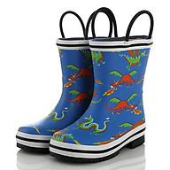 Ủng đi mưa hình khủng long giúp bé,đi trời mưa, thăm vườn rau,giúp bảo vệ đôi chân bé tránh những vật sắt nhọn SB023 thumbnail