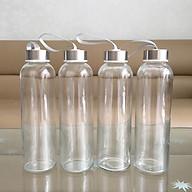 Combo 5 Bình đựng nước thủy tinh đẹp 500ml thumbnail