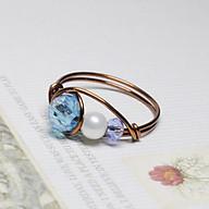 Nhẫn đá phale cao cấp cho nữ kiểu dáng thời trang 05796-05851 thumbnail