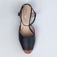 Sandal nữ 3 phân gót trong siêu dễ thương 21341 thumbnail