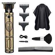 Electric Hair Clipper Barber Hair Clippers Household Hair Trimmer Set Salon Haircut Machine Dedicated Push USB Charging thumbnail