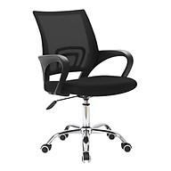 Ghế lưới văn phòng model B01 chân xoay 360 độ cao cấp mẫu mới 2021 (hàng nhập khẩu) BLACK thumbnail