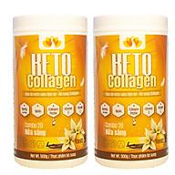 Combo 2 hộp Keto Collagen [Chính Hãng] Bữa ăn Keto GIẢM CÂN SIÊU TIỆN LỢI cho người thực hành Keto và người muốn giảm cân thumbnail
