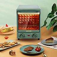 Bếp Lò Nướng Điện Mini 12 Lít Gồm 2 Tầng Max Nhiệt 200 C - Hàng chính hãng thumbnail