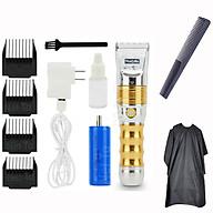 Tông Đơ Cắt Tóc Salon Thương Hiệu Nhật Bản HUAERBO B60 PIN 5000mAh TẶNG Áo Choàng Cắt Tóc + Lược Tiện Dụng - Tăng Đơ Có Chế ĐỘ Cắt Thường Và Cắt Tubo Nhanh Hơn 20% thumbnail