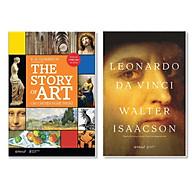 Combo Cái Nhìn Rõ Nét Về Nghệ Thuật Dưới Góc Nhìn Lịch Sử THE STORY OF ART - Câu Chuyện Nghệ Thuật + Leonardo Da Vinci (Bìa Cứng - Tái Bản 2020) thumbnail