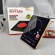 [Bếp không kén nồi]Bếp Hồng Ngoại 2 vòng nhiệt Hayasa 780slim, công suất 2000W, phím cảm ứng-Hàng chính hãng thumbnail