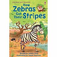 Usborne First Reading Level Two How Zebras Got Their Stripes thumbnail