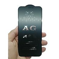 Kính cường lực full nhám chống bám vân tay dành cho các dòng Iphone thumbnail