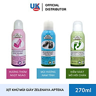 Xịt Khử Mùi Giày Zelenaya Apteka Effective 3-in-1 150ml thumbnail