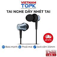 Tai nghe nhét tai có dây TOPK F38 - Âm thanh Stereo Jack cắm 3.5 Vỏ kim loại - Hàng chính hãng thumbnail