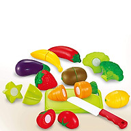 Bộ đồ chơi cắt ghép rau củ quả cao cấp cho bé BBT GLOBAL 666-25 thumbnail