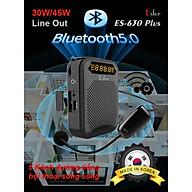 Máy trợ giảng không dây Hàn Quốc ESFOR ES-630 Plus 45W Bluetooth 5.0 - HÀNG CHÍNH HÃNG thumbnail