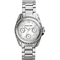 Michael Kors Women s MK5612 Blair Analog Display Analog Quartz Silver Watch thumbnail