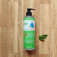 Gel rửa tay khô Glee Care 500ml (Hương trà xanh) Công nghệ Nano Bạc diệt khuẩn thumbnail