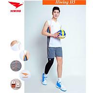Bộ quần áo bóng chuyền cao cấp thương hiệu HIWING H5 màu trắng thumbnail