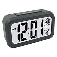 Đồng hồ để bàn báo thức kỹ thuật số cảm biến phát sáng trong đêm thumbnail