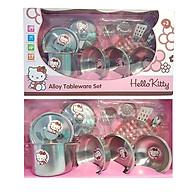 Bộ đồ chơi Dụng cụ nấu ăn Inox Hello Kitty thumbnail