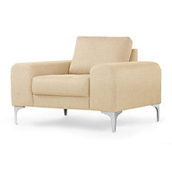 Sofa Đơn Juno K-don03 114 x 92 x 81 x 43 cm (Kem) thumbnail