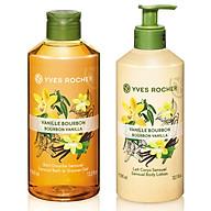 Bộ Gel tắm Yves Rocher 400ml + Dưỡng thể Yves Rocher 390ml - Hương Vani thumbnail