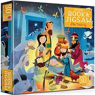 Usborne Book and Jigsaw The Nativity (Contains 30 Pieces Jigsaw) thumbnail