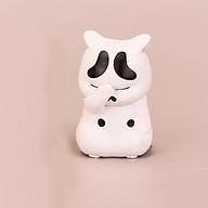 Tượng trang trí Mèo che mặt 5cm thumbnail