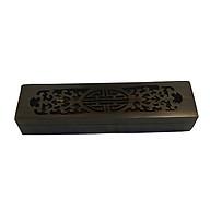 Hộp đựng đũa - hộp đựng quà lưu niệm bằng gỗ Trắc đen cao cấp thumbnail