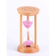 Đồng hồ cát trang trí bằng gỗ xinh xắn 3 phút thumbnail