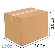 20x15x10 - Combo 10 thùng giấy carton gói hàng thumbnail
