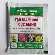 05 gói Phân bón Micro Green 16-31-16 giúp tạo mầm hoa cực mạnh - kích thích ra hoa đồng loạt thumbnail