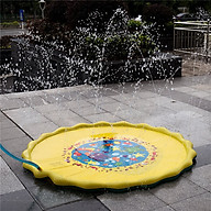 Đồ chơi phao phun nước cho bé - Thảm hơi phun nước cho bé thumbnail