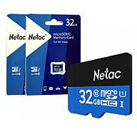 Combo 02 Thẻ nhớ 32G NETAC Class 10 90 Mbs - Hàng Chính Hãng thumbnail