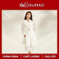Đầm nữ dáng xòe DA1149 GUMAC thiết kế tay dài khuyên eo thumbnail
