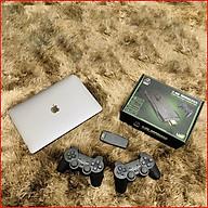Máy chơi game cầm tay tích hợp 3500 trò chơi cùng tay cầm không dây cho trải nghiệm hình ảnh và âm thanh sống động. thumbnail