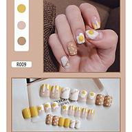 Bộ 24 móng tay giả nail thơi trang (như hình-R-009) thumbnail