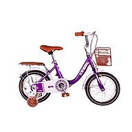 Xe đạp cho bé gái 1 gióng bánh 12,14, 16, 18,20 inch cho bé mẫu mới nhất thumbnail