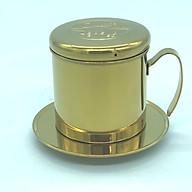 PHIN CAFE INOX 304 MẠ VÀNG( HÌNH CON CHỒN) thumbnail