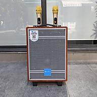 Loa kéo AZPro AZ 308 - Loa kéo di động 3 đường tiếng bass 2 tấc - Tặng kèm 2 micro không dây - Công suất lên đến 250W - Có remote, đầy đủ kết nối Bluetooth, AV, USB, SD card - Cổng 6.5 cắm micro ngoài - Âm thanh cực chuẩn - Hàng nhập khẩu thumbnail