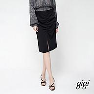 GIGI - Chân váy midi bút chì Ruched Split G3301202525H-66 thumbnail