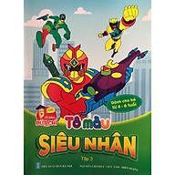 Tô màu siêu nhân tập 1,2,3,4 - bộ 4 cuốn thumbnail